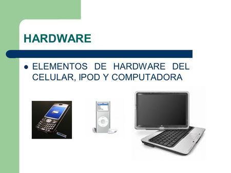 Dispositivos perif ricos ppt video online descargar for Elementos de hardware