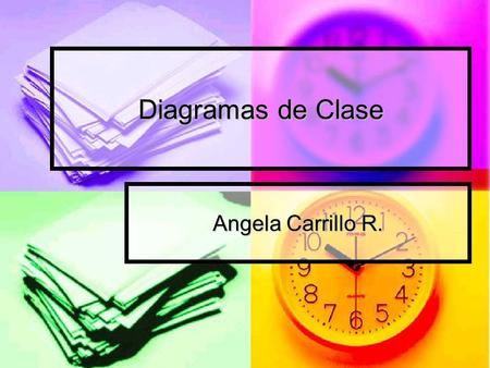 Diagramas de Clase Angela Carrillo R..