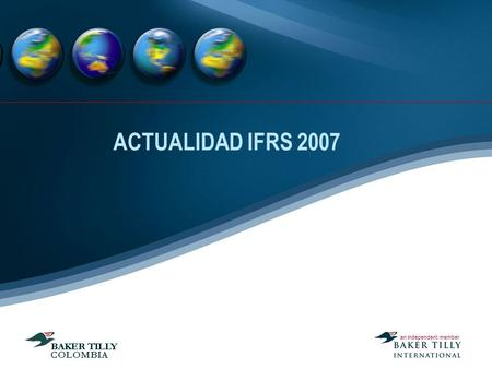ACTUALIDAD IFRS 2007.