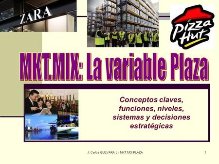 MKT.MIX: La variable Plaza
