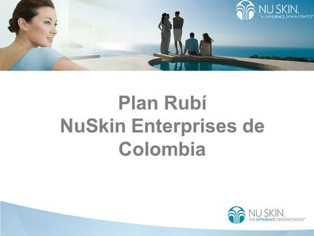 Plan Rubí NuSkin Enterprises de Colombia. Become Executive TEST Month 1Month 2Month 3Month 4 Personal Sales Volume (PSV) Group Sales Volume (GSV) Qualifying.