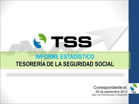Tss informe estad stico tesorer a de la seguridad social for Tesoreria seguridad social vitoria