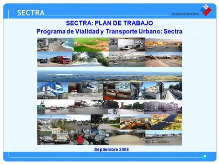 SECTRA: PLAN DE TRABAJO