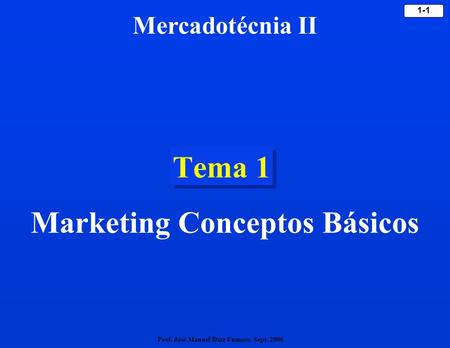 Marketing Conceptos Básicos