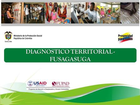 DIAGNOSTICO TERRITORIAL - FUSAGASUGA