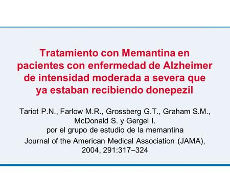 Journal of the American Medical Association (JAMA), 2004, 291:317–324