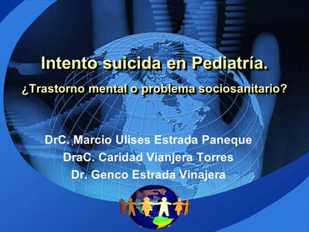 Intento suicida en Pediatría