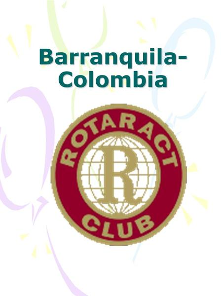 Barranquila- Colombia. Who are they?