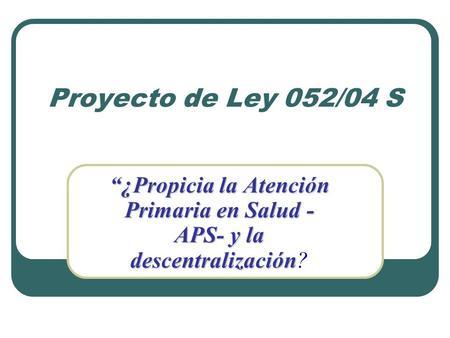 Reforma de salud 1438 del 2011