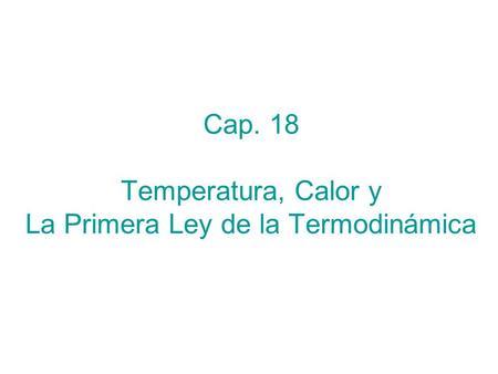 Primera y segunda leyes de la termodinamica