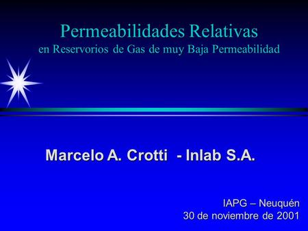 Marcelo A. Crotti - Inlab S.A.