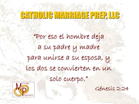 CATHOLIC MARRIAGE PREP, LLC