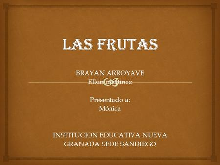 INSTITUCION EDUCATIVA NUEVA