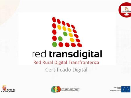 Red Rural Digital Transfronteriza Certificado Digital.