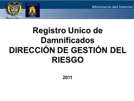 Manejo y administraci n de los centros de operaciones de for Direccion de ministerio de interior y justicia