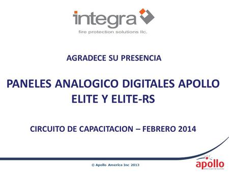 PANELES ANALOGICO DIGITALES APOLLO ELITE Y ELITE-RS