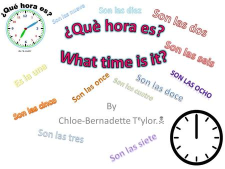 By Chloe-Bernadette Tᵄylor. . Before you can tell the time you need to recap numbers 1-12! Uno Dos Tres Cuatro Cinco Seis Siete Ocho Nueve Diez Once.