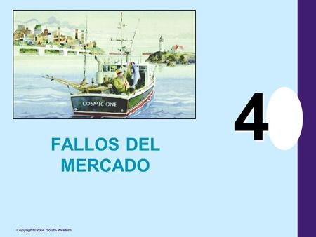 Copyright©2004 South-Western 4 FALLOS DEL MERCADO.