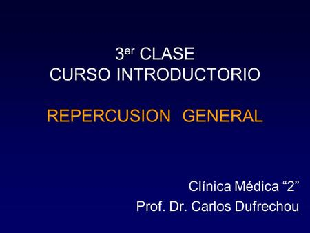 3er CLASE CURSO INTRODUCTORIO REPERCUSION GENERAL