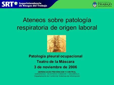 Enfermedades relacionadas con el amianto ppt descargar for Teatro de la laboral
