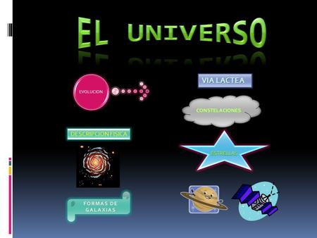 EVOLUCION DESCRIPCION FISICA VIA LACTEA VIA LACTEA.