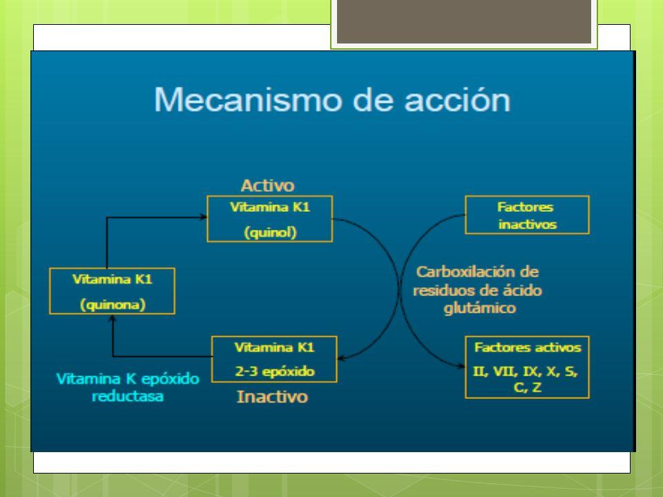Farmacocinética Absorción: oral.Distribución: T½: 25-60h y 99% unión a proteínas.