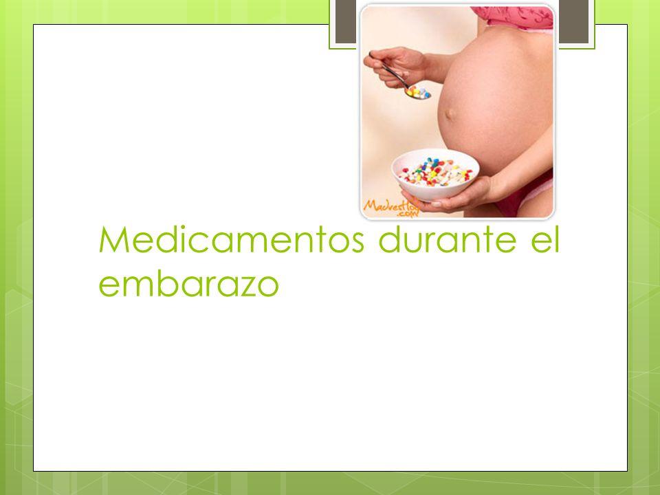 Farmacocinética Aumentar las dosis en embarazadas Albúmina se une a drogas ionizadas Aumento del aclaramiento Afecta la absorción de medicamentos orales Disminución vaciamiento gástrico y motilidad GI Aumento pH estomacal
