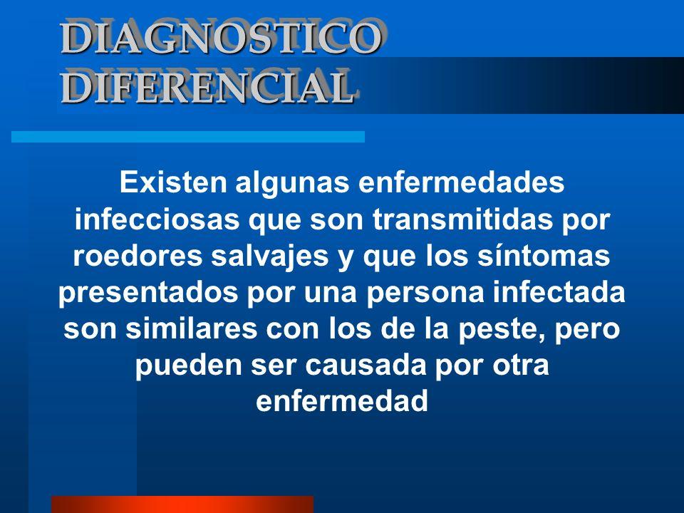 DIAGNOSTICO DIFERENCIAL Hantavitus, Leptosporosis, Meliodosis Tuleremia. EBOLA (EN ESPECIAL )