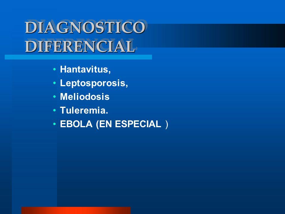 DIAGNOSTICODIAGNOSTICO Se hace a través de métodos directos de detección de antígenos (aislamiento de Yersinia en la sangre, esputo, líquido cefalorraquídeo o secreción de bubón del paciente), también se realizan frotis o cultivos, fluorescencia de anticuerpos y pruebas serológicas como el test ELISA (Enzyme Linked Immuno Sorbent Asssay) que significa Ensayo inmuno-enzimático absorbente
