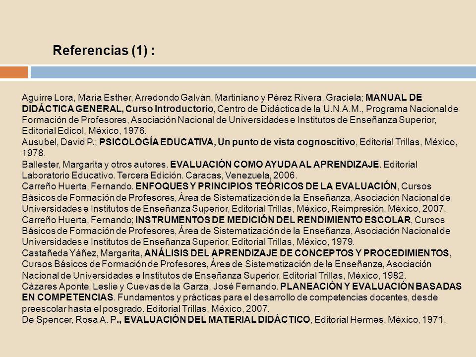 Díaz Barriga, Ángel.DIDÁCTICA Y CURRÍCULUM. Editorial Paidós Mexicana, México, 1997.