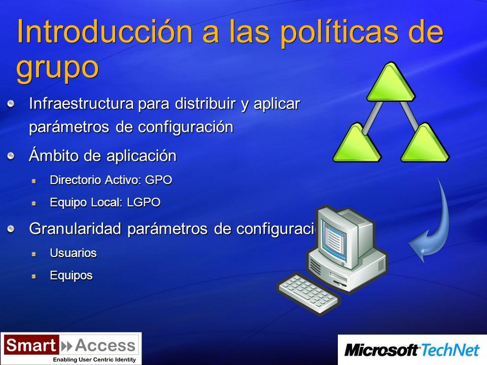 ¿Dónde se almacenan las GPOs.Base de datos del Directorio Activo Group Policy Container.