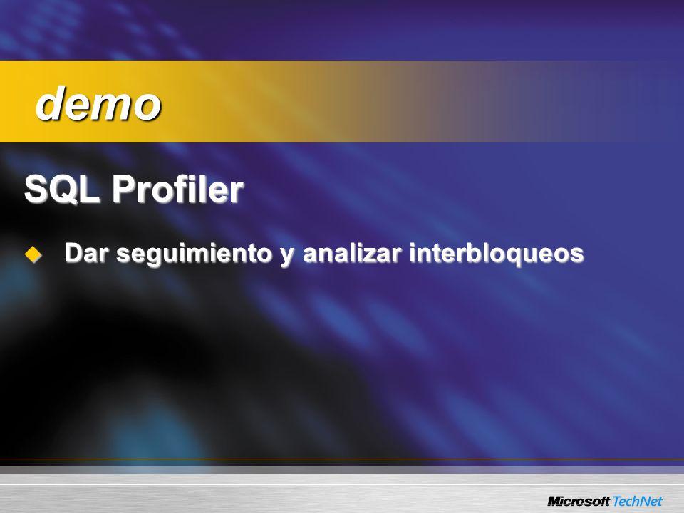 Consulta: ¿Cómo habilita a un usuario ordinario para ejecutar un SQL Profil...
