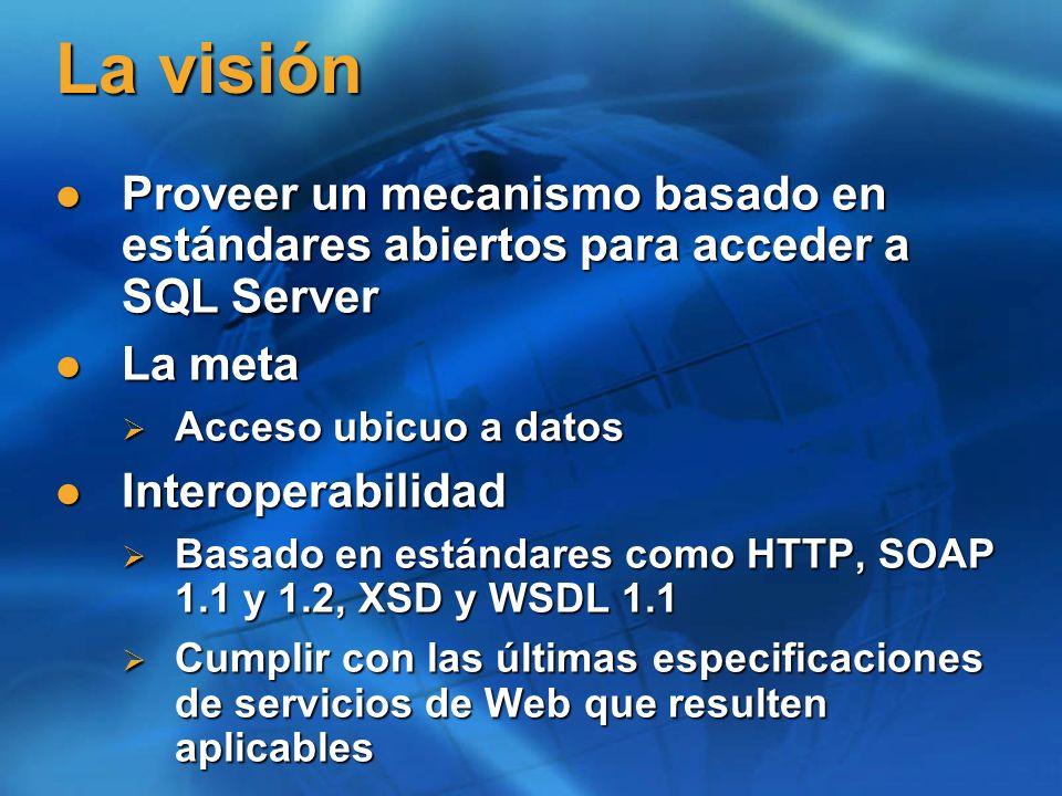 Protocolos de acceso a SQL Server SQL SERVER TDS/TCPNamedPipesTDS/TCPNamedPipesODBC, OLE DB, ADO.NETODBC, ADO.NET
