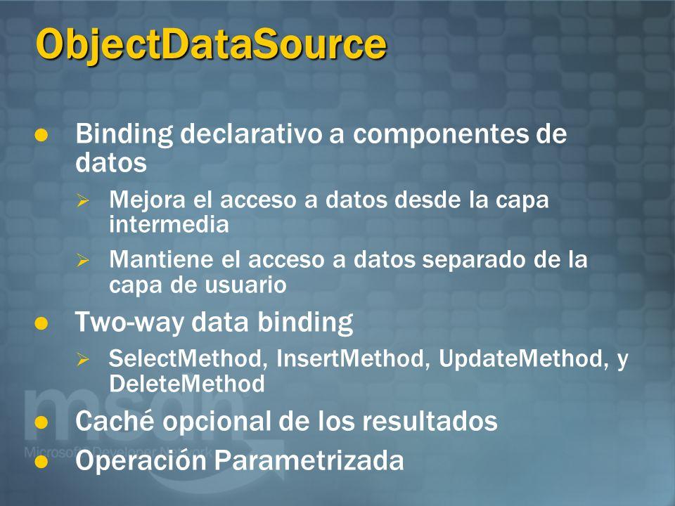 ObjectDataSourceObjectDataSource