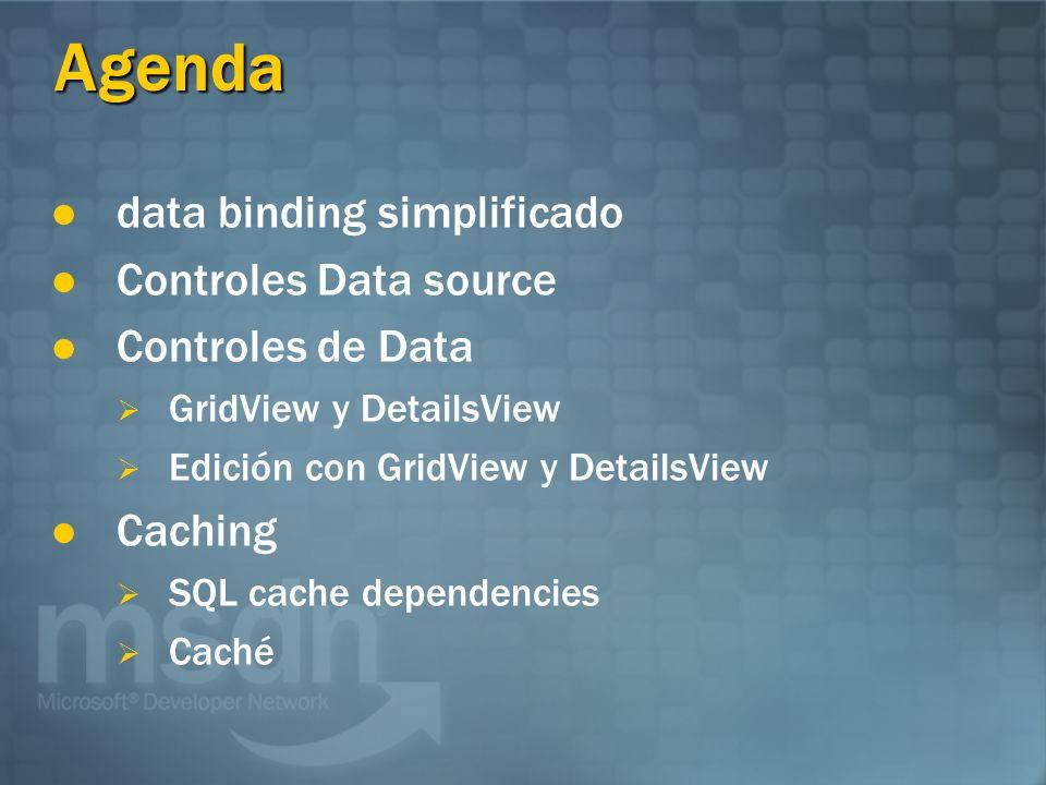 Data Binding simplificado Las expresiones Data binding son mas simples y soportan (XML) data binding jerarquizado
