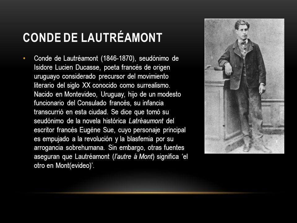 Enviado por su padre a Francia, estudió en la Escuela Politécnica de París, donde escribió largos cantos en prosa, de los cuales el primero se publicó en 1868.