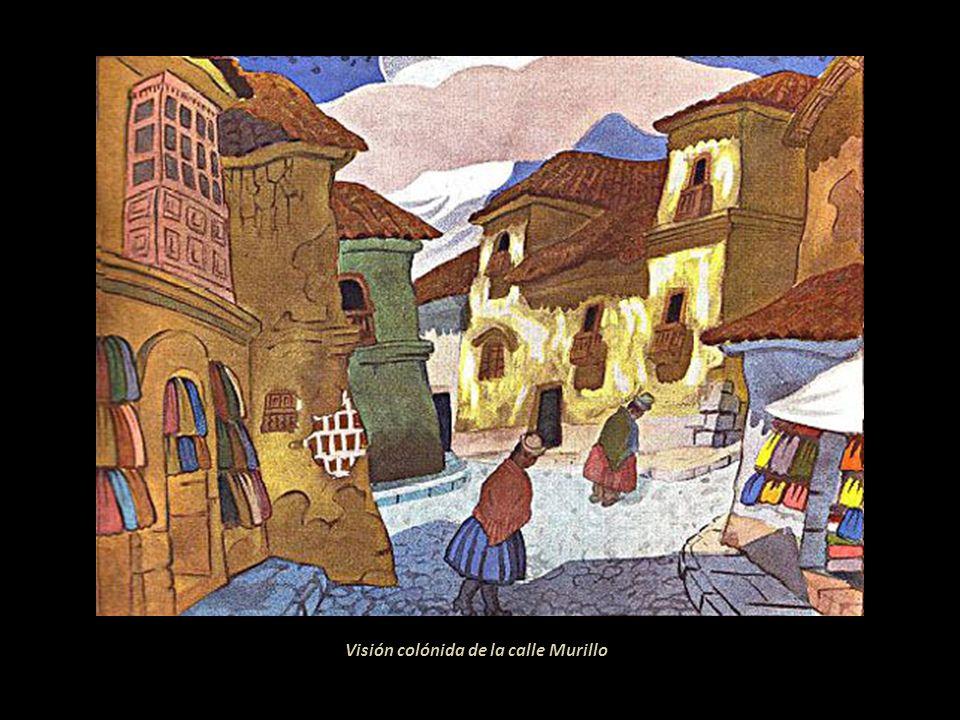 Visión colónida de la calle Murillo