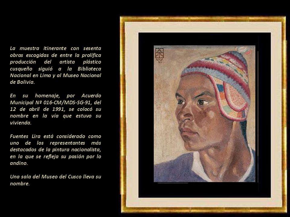La muestra itinerante con sesenta obras escogidas de entre la prolífica producción del artista plástico cusqueño siguió a la Biblioteca Nacional en Lima y al Museo Nacional de Bolivia.