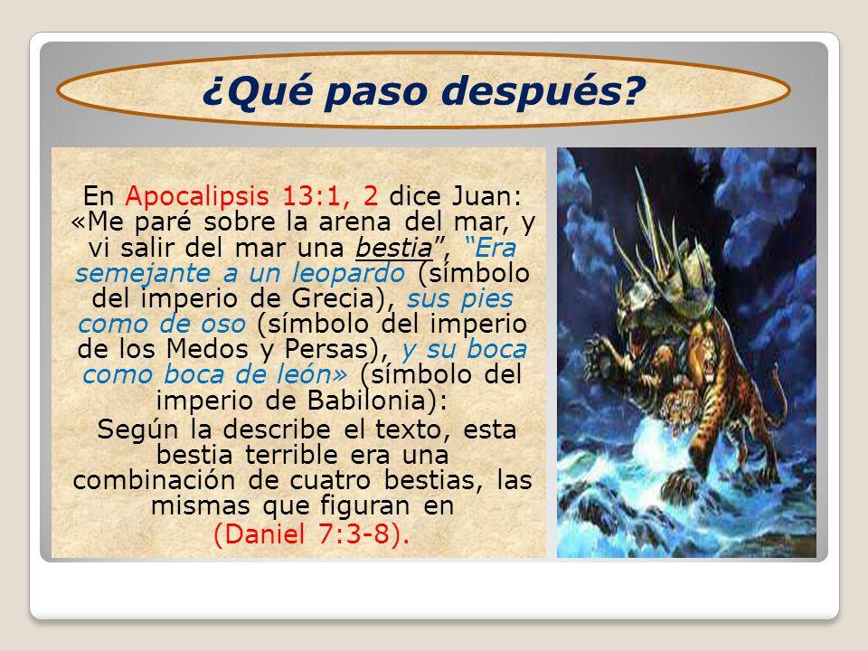 Lo aterrador es que el dragón, que según (Apoc.12:9) es el (diablo) representado aquí por el Imperio Romano le dio (a la bestia) su poder, su trono y gran autoridad (Apoc.13:2).
