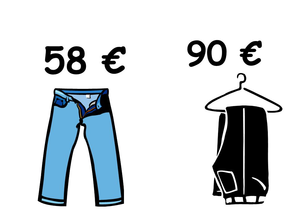 Traduce las frases 1.The jeans are longer than the trousers 2.The skirt is more expensive than the tie 3.The blue dress is tighter than the red dress 4.