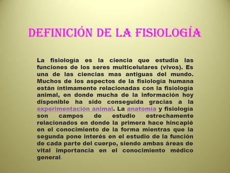 Concepto de fisiologico wikipedia