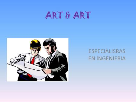 ESPECIALISRAS EN INGENIERIA