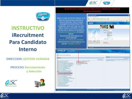 INSTRUCTIVO iRecruitment Para Candidato Interno