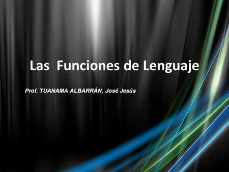 Funciones de lenguaje halliday