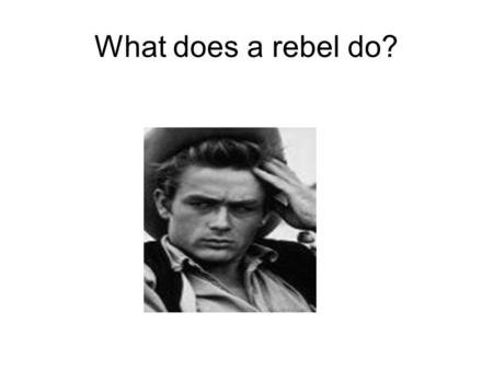 What does a rebel do?. What is a rebel verb? Breaks rules! Doesn't conform by using accents! Steals verb endings from AR and IR/ER verbs Changes the root.