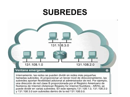 SUBREDES.