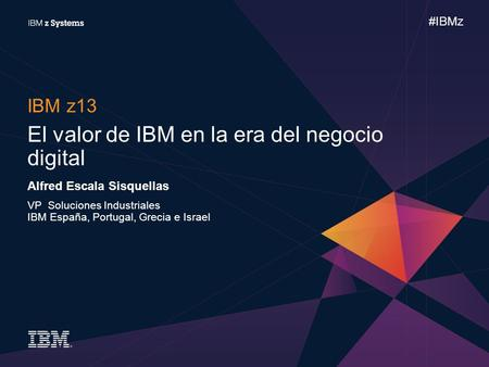 El valor de IBM en la era del negocio digital