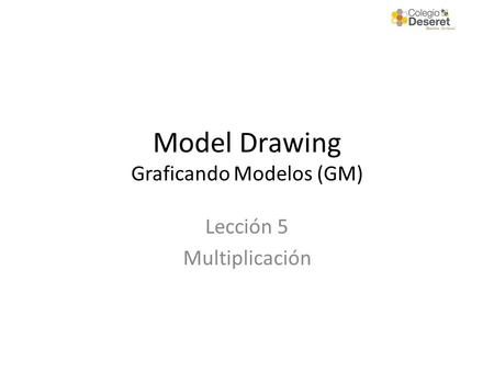 Model Drawing Graficando Modelos (GM)