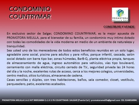 CONDOMINIO COUNTRYMAR