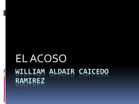 William Aldair Caicedo Ramirez